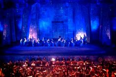 A performance of Aida at Aspendos during the 2014 Opera and Ballet Festival. Image by Jo Cooke / Lonely Planet
