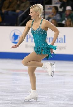 figure skating dress Viktoria Helgesson (Photo by Otto Greule Jr/Getty Images)