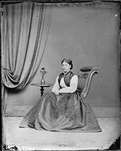 Mrs Colonel McDonnell (Henrietta), seated