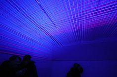 3D UV Thread-Installation by Jeongmoon Choi
