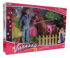 """Country Cuties """"Vanessa"""" doll with horse"""