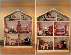 Kent and Denise Conder Family: American Girl: the dollhouse years