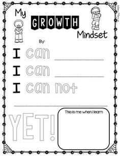 Growth Mindset Activity and Bulletin Board by Danielle Murphy – Shimmer Sparkle Teach Growth Mindset Display, What Is Growth Mindset, Growth Mindset Lessons, Growth Mindset For Kids, Growth Mindset Activities, Growth Mindset Quotes, Fixed Mindset, Visible Learning, Counseling Activities