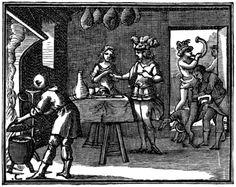 La Fontaine-Illustrations pour les «Fables choisies mises en vers par M.de la Fontaine»,Claude Barbin et Denys Thierry,Paris,1668 (premier recueil) 1678-79 (deuxième recueil) 1694 (troisième recueil). Numérotation Charpentier (1705).Century XVII, François Chauveau (1613-1676)