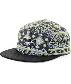 Empyre Digital Black 5 Panel Hat c6153093b16