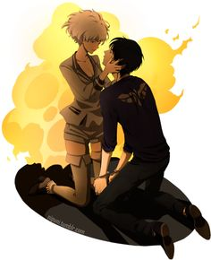 Nine and Five. If Five was nicer, these two would've been so good together. ~Zankyou no Terror