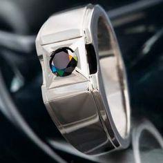 Black Diamond Paladin Ring