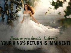 I will wait for my Bridegroom...I will be prepared for His coming~