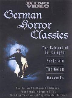 german horror movies   German Horror Classics Box Set DVD Movie