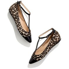 210428c68 Madewell Belle By Sigerson Morrison Variee Leopard Flats Dream Shoes, New  Shoes, Crazy Shoes