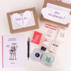 Kit du parfait témoin http://mon-joli-carnet.blogspot.fr/2015/03/le-kit-du-temoin-parfait.html?m=1