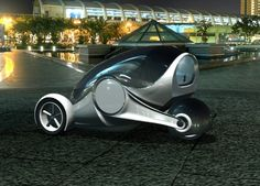 Apple iSync – Futuristic Car By Nathan Williams