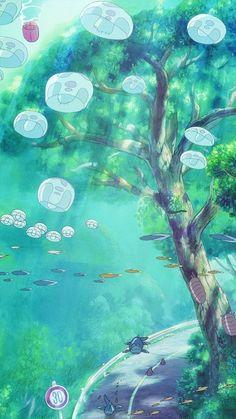 Studio Ghibli Art, Studio Ghibli Movies, Anime Scenery Wallpaper, Cartoon Wallpaper, Film Anime, Anime Art, Aesthetic Anime, Aesthetic Art, Image Deco