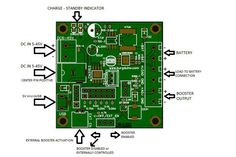 Regulator/Charger/Booster LiIon by Burgduino on Tindie Charger, Usb