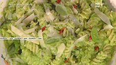 """La ricetta dei fusilli con zucchine e basilico di Luisanna Messeri del 2 marzo 2016, a """"La prova del cuoco"""""""