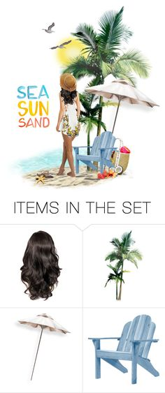 """""""Summer"""" by anniiebee ❤ liked on Polyvore featuring art"""