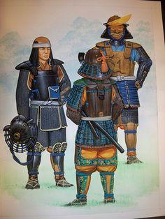 Samurai Armor back
