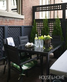 DIY Small Patio Makeover On A Budget