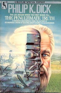 The Penultimate Truth In The Year 2525, Classic Sci Fi Books, K Dick, Sci Fi Novels, Futuristic Art, Science Fiction Books, Sci Fi Fantasy, Sci Fi Art, Book Design