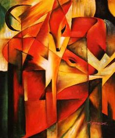 Franz Marc, Red Foxes