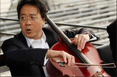 YoYo Ma -- Chinese American Cellist.  Take a listen to him play Bach Cello Suite N° 1 Prelude HD YouTube. http://www.youtube.com/watch?v=5QTaN-8DsHk