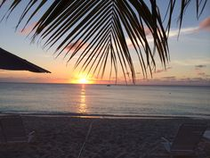 Sunset seven mile beach grand cayman