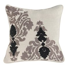 Noveau Pillow with Beading by Bassett Furniture