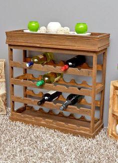 dark brown wine rack for 24 bottles wooden wine rack wine rack board:Amazon.co.uk:Kitchen & Home