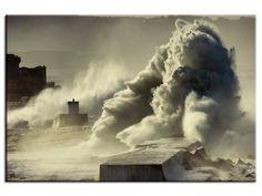 Tableau déco photo tempète sur socoa dans la catégorie Stéphane Salerno