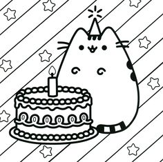 80 Pusheen Coloring Pages Ideas Pusheen Coloring Pages Coloring Pages Cat Coloring Page