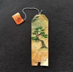 26 Days Of Tea In Japan: I Paint On Used Tea Bags | Bored Panda
