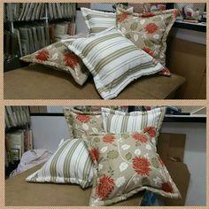 Lindas almofadas  para decorar se quarto, sua sala, enchimento  com  fibra  de silicone, bordas acolchoadas.