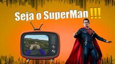 Como Seria Voar pela Cidade igual ao Superman?