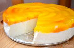 Quark cake without eggs and without baking - Backen süss - Kuchen Best Deviled Eggs, Deviled Eggs Recipe, Cookie Desserts, No Bake Desserts, Cake Sans Oeuf, Simple Cake Designs, Baked Cheesecake Recipe, Yogurt Recipes, Cake Toppings