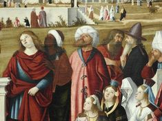 Details of painting Louvre, Artwork, Painting, Collection, Beard Hat, Holy Land, Men Portrait, Dog, Animaux