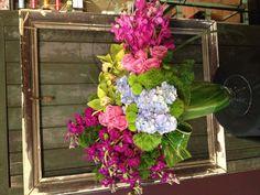Orchids, stock, hydrangea