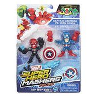 Marvel Super Hero Mashers Micro 2 Pack Action Figure - Captain America and Arnim Zola