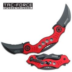 Tac Force TF-669RD Tactical Assisted Opening Folding Knife 5.25-Inch Closed: Sports & Outdoors