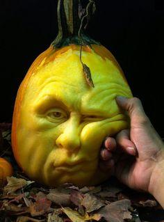 Ray Villafane - Carved pumpkins