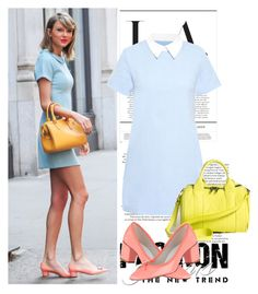 """""""Celebrity Style - Taylor Swift"""" by lidia-solymosi ❤ liked on Polyvore featuring Amalie & Amber and Alexander Wang"""