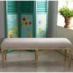 Clairette Wood Traditional French Bench By Baxton Studio Home Decor Furniturefurniture Outletonline