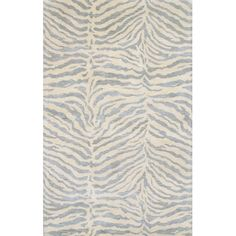 Bashian Rugs Norwalk Light Blue & Ivory Animal Print Area Rug & Reviews | Wayfair