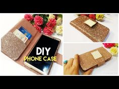 Learn how to make phone cases from scratch in this diy tutorial from Little Crafties. Whether you want to make an iphone case, smartphone case or any other m. Iphone Wallet Case, Diy Phone Case, Mobile Phone Cases, Phone Covers, Iphone Cases, Mobiles, Coque Smartphone, Craft Station, Old Phone