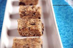 No Bake Chocolate Chip Cookie Dough Bars. Dairy, Refined Sugar & Gluten FREE