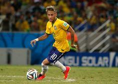 No. 3 at 2014 World Cup - Neymar Jr, Brazil