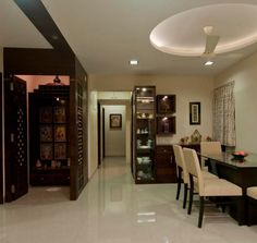 Pooja room ideas in small house smallest house room for Houzify home designs