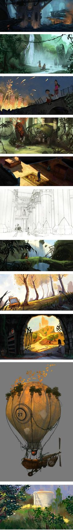 Erik D. Martin is a visual development artist based in Los Angeles and currently working for Disney Interactive.