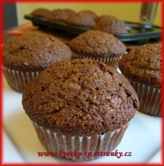 Oreo Cupcakes, Baking Cupcakes, Cake Cookies, Cupcake Cakes, Dairy Free Recipes, Baking Recipes, Cake Recipes, Czech Recipes, Sweet Recipes