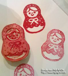DIY stamp -  Babushka