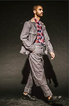 Engineered Garments AW14 Look, i've been pinning the most complex of looks from this collection and I think it is just because I am odd. Take elements from each look and make them your own.